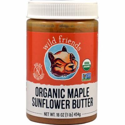 Wild Friends Organic Sunflower Butter Maple -- 16 oz pack of 2