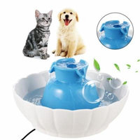 Hascon 2.1L Water Fountain Electric Water Dispenser for Dogs Cats
