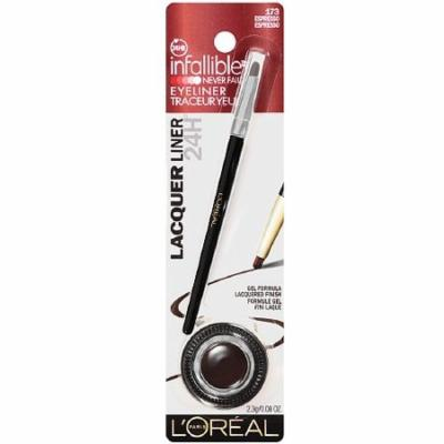 L'Oreal Infallible Gel Lacquer Liner, Espresso - 1 Ea, Pack of 2