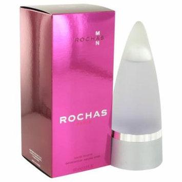 Rochas Man by Rochas - Eau De Toilette Spray 3.4 oz