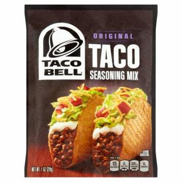 (3 Pack) Taco Bell Original Taco Seasoning Mix, 1 oz Envelope