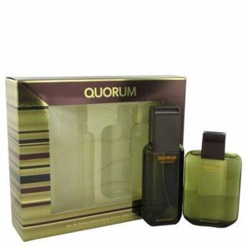 QUORUM by Antonio Puig - Gift Set -- 3.3 oz Eau De Toilette Spray + 3.3 oz