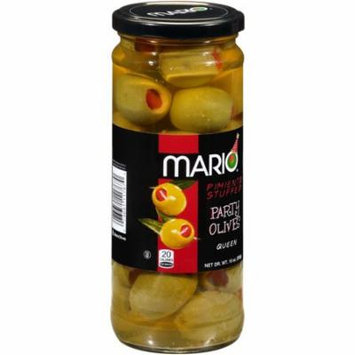Mario® Pimento Stuffed Queen Party Olives 10 oz. Jar