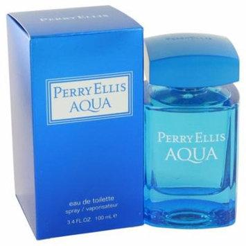 Perry Ellis Aqua by Perry Ellis - Eau De Toilette Spray 3.4 oz
