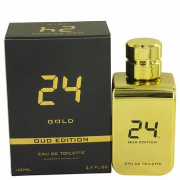 24 Gold Oud Edition by ScentStory - Eau De Toilette Concentree Spray (Unisex) 3.4 oz