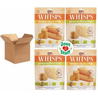 Whisps Parmesan & Cheddar Cheese Crisps, 2.12 oz Bags, 2 of Each Flavor +