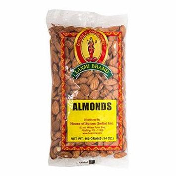 Laxmi Whole Almonds - 4lb