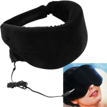 Trademark Global Games Remedy Heat Sensitive Memory Foam Sleep Mask w/ Music Input