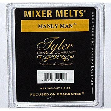 Tyler Candle Mixer Melts Wax Potpourri Set of 4 - Manly Man