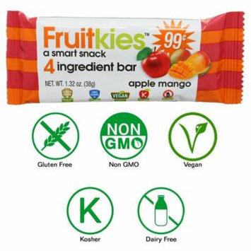 Fruitkies Apple Mango 4 Ingredient Fruit Snack Bar (Single Count)