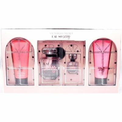 Victoria's Secret Eau So Sexy: Fragrance Wash 3.4 Fl Oz., Eau De Parfum 1.7 Fl Oz. & .25 Fl Oz., Fragrance Lotion 3.4 Fl Oz.