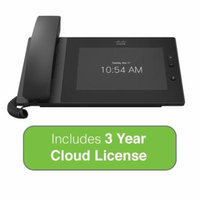 Cisco Meraki MC74 VoIP Cloud Managed Phone Bundle with 3 Years MC Series Cloud License