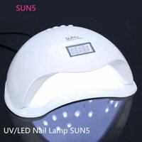 Yosoo 48W LED Nail Dryer - Double light source Nail Lamp Curing LED Gel Nail Polish, Professional for Nail Art at Home and Salon