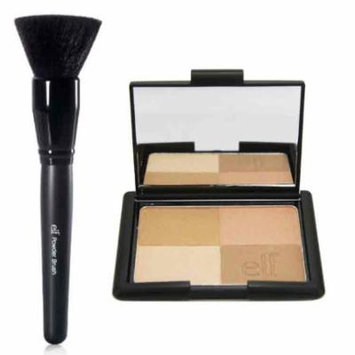 elf Studio Golden Bronzers and Powder Brush, elf Studio Golden Bronzers and Powder Brush By 47krate