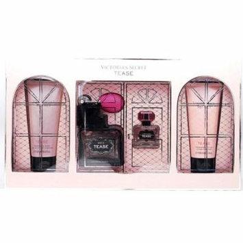 Victoria's Secret Tease Set: Fragrance Wash 3.4 Fl Oz., Eau De Parfum 1.7 Fl Oz. and .25 Fl Oz., Fragrance Lotion 3.4 Fl Oz.