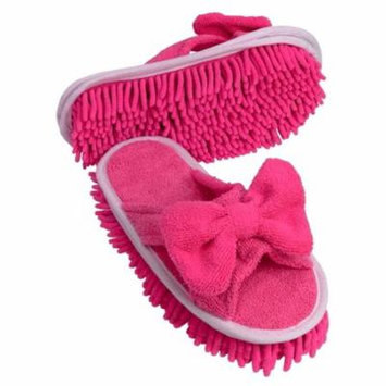 Evriholder Slipper Genie Microfiber Cleaning/duster With Bow Sizes 6-9 Durable, Let The Slipper Genie Do The Cleaning For You Great On Harwood Linoleum And.., By Unknown
