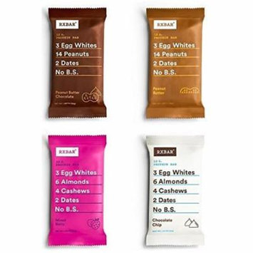 Rxbar - Variety Pack 4 Flavors- ( Pack of 12 )