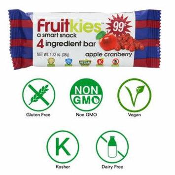 Fruitkies Apple Cranberry 4 Ingredient Fruit Snack Bar (1 Count)