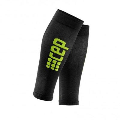 CEP Men's Progressive+ Run Ultralight Calf Sleeves Black-Green Size 3