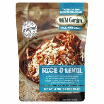 Wild Garden All Natural Heat & Serve Pilaf, Rice & Lentil, 8.8 Oz