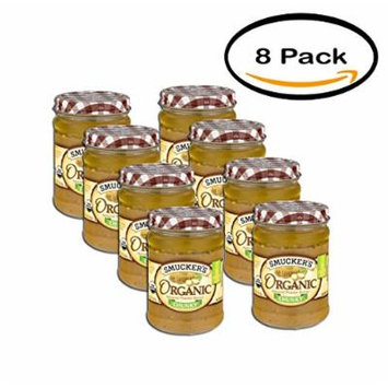 PACK OF 8 - Smucker's Organic Chunky Peanut Butter, 16 oz