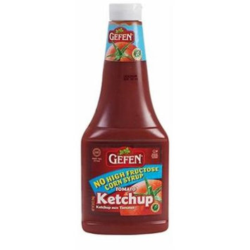 Gefen No High Fructose Corn Syrup Tomato Ketchup 28 Oz. (Pack of 3.)