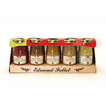Edmond Fallot – Mustard Gift Pack (5×100 g.)