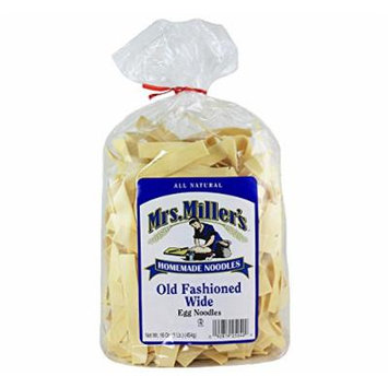 Mrs. Millers Old Fashioned Wide Noodles 16oz. Bag (2 Bags)