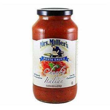Mrs. Miller's Chunky Italian Pasta Sauce 25.5 oz. (3 Jars)
