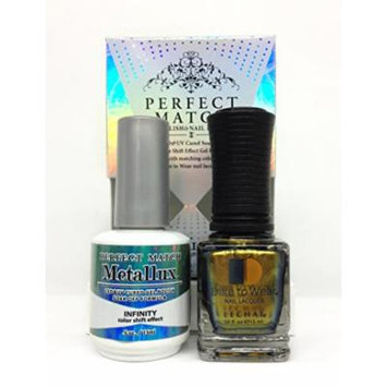 LECHAT Perfect Match Gel Polish & Nail Lacquer Duo 0.5oz/15ml (MLMS01 - INFINITY)