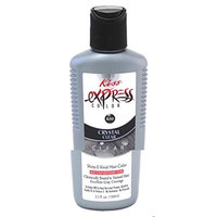 Kiss Express Color #K45 Semi-Permanent Red Hot 3.5 Ounce (100ml) (3 Pack)