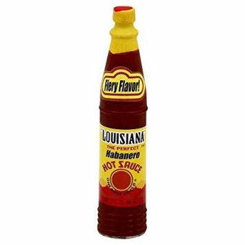 Louisiana Brand Habanero Hot Sauce 3.0 OZ(Pack of 6) by Louisiana