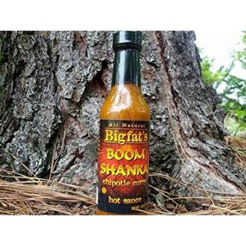 Bigfat's Boom Shanka Chipotle Curry Hot Sauce (3 Pack)