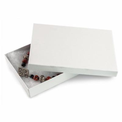 JSP COTTON FILLED BOXES WHITE, 7inchX5inchX1 5inch #75 50 pieces