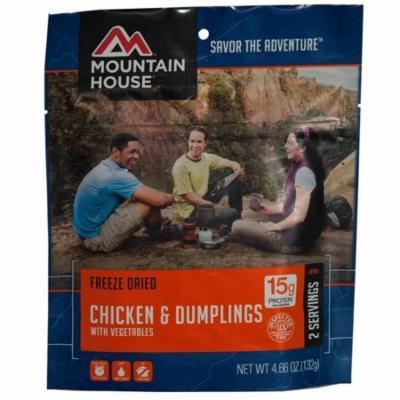 Mountain House CHICKEN & DUMPLINGS 6 Food Pouch-2 Serving Each