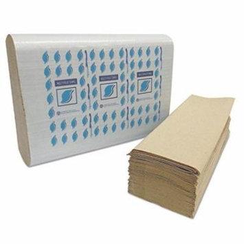 GENERATIONS CONSUMER MF4001K Multi-Fold Paper Towels, Kraft, 1-Ply
