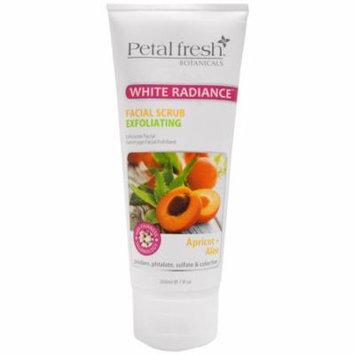 Petal Fresh, Botanicals, White Radiance Facial Scrub Exfoliating, Apricot & Aloe, 7 fl oz (200 ml)
