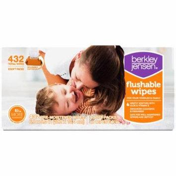 Berkley Jensen Family & Toddler Moist Flushable Wipes, 432 ct. (baby wipes - Wholesale Price