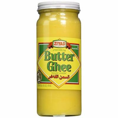 Ziyad Pure Desi Ghee Clarified Butter, 16 Ounce