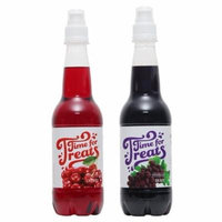 Victorio Time for Treats Snow Cone Syrup 2 Pack Bundle Cherry and Grape