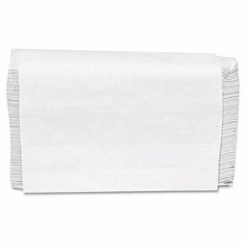GEN Folded Paper Towels, Multifold, 9 x 9 1/2, White - 16 packs of 250 towels per case.