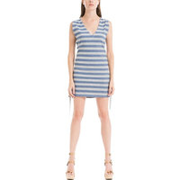 Max Studio Womens Lace-Up Sleeveless Casual Dress