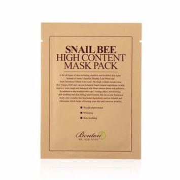 (6 Pack) BENTON Snail Bee High Content Mask Pack