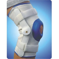 Living Health Products AZ-74-3636-XL Deluxe Compression Knee Support with Hinge Extra Large
