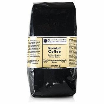 Quantum Coffee, 4 lb, Organic Whole Beans, Quantum-State Quality