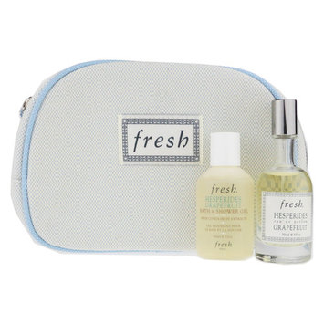 Fresh Hesperides Grapefruit EDP 1.0oz + Bath & Shower Gel In Fresh Signature Bag