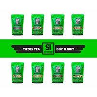Tiesta Tea SLENDERIZER Dry Flight, 8 Loose Green & Oolong Tea Blends, 8 to 12 Servings of Each Flavor, Medium Caffeine, Sampler Gift Set