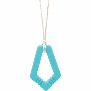 Nixi Arya Teething Pendant, Turquoise