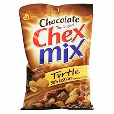Chex Mix Chocolate Turtle, 7 Count (SNACKS - PRETZELS/PRETZEL MIX)