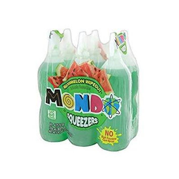 Mondo Watermelon Wipeout Flavored Drink 6.75 oz (3 Six Packs 18 Total)